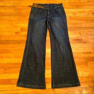 4/$40 - MANGO COLLECTION Vintage Wide Leg Jeans 10